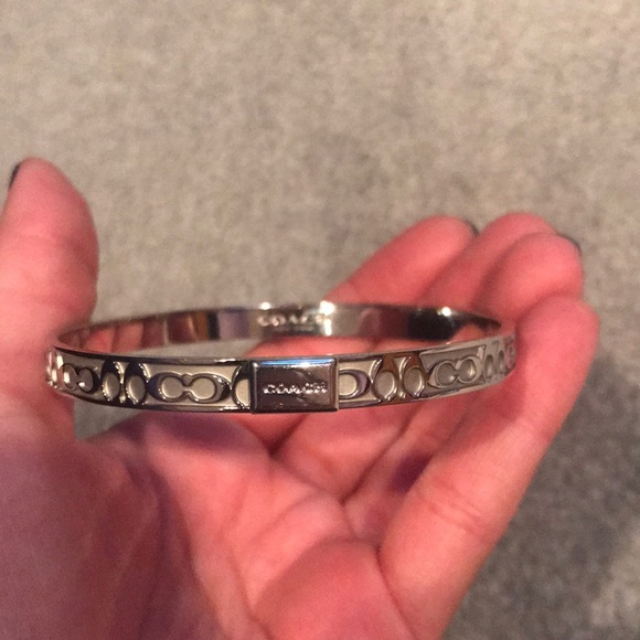 "Coach Jewelry - Coach Signature ""C"" Bangle Bracelet"